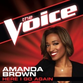 Amanda Brown - Here I Go Again (The Voice Performance)