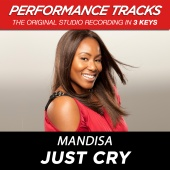Mandisa - Just Cry [Performance Tracks]